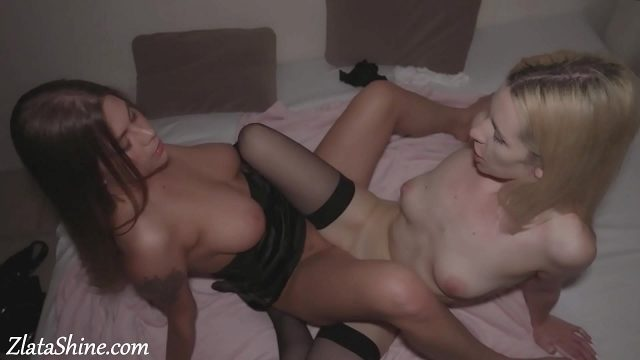 Lesbians Pussy Licking Orgasm and Fingering after Club